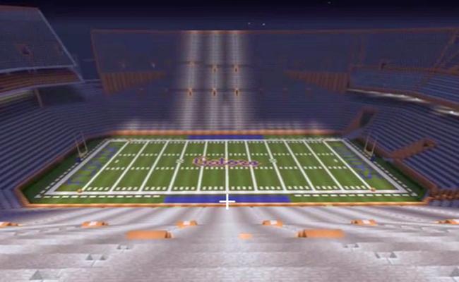 Minecraft-stadium