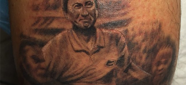 LOOK: Florida Gators fan gets tremendous, detailed Steve Spurrier tattoo