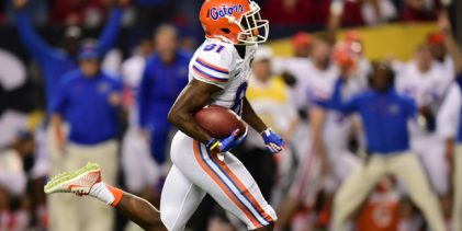 Florida Gators suspend seven players, including Antonio Callaway, for Michigan opener