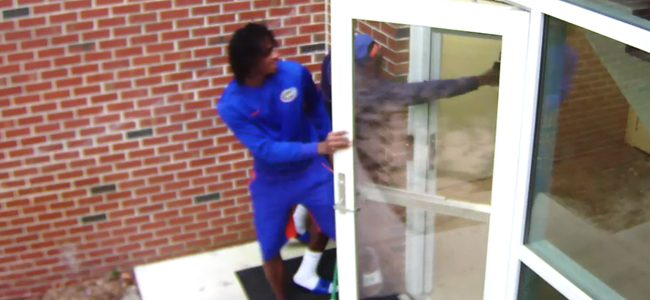 University police release videos of BB gun incident involving Florida Gators receivers