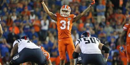 Four Florida Gators, three defensive backs, picked on day two of 2017 NFL Draft