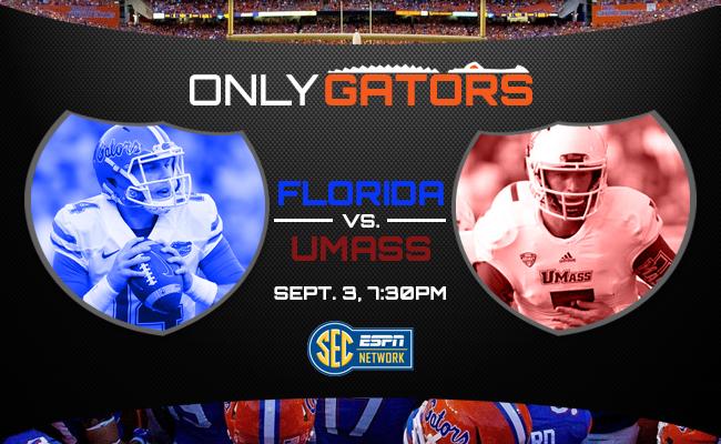 No. 25 Florida Gators football vs. UMass: What you need to know ...