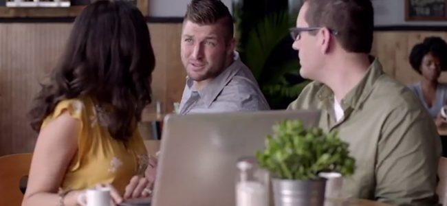 WATCH: Tim Tebow is here to help you save money