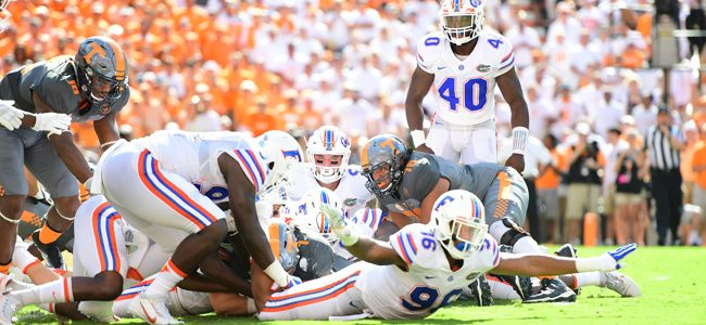 Gators to face Leonard Fournette with most of their defensive front injured or out