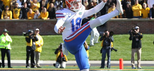 Florida punter, linebacker eviscerate Tennessee with two short tweets