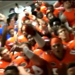 WATCH: Florida Gators go wild in locker room after beating LSU in Death Valley