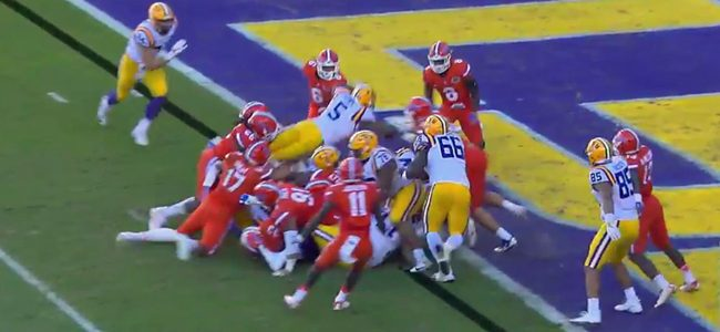 WATCH: Florida wins SEC East by shutting down LSU on epic goal-line stand
