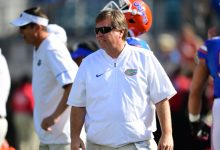 Florida coach Jim McElwain dismisses reports of Oregon interest