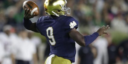 Report: Florida one of three teams being considered by QB transfer Malik Zaire