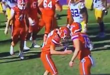 WATCH: Florida hits LSU with the Mannequin Challenge twice in Saturday's game