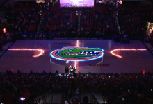 WATCH: Florida basketball debuts new hologram projection intro in the O'Dome
