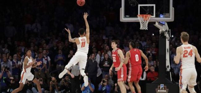 EXTRA CHEESE: Watch as Chris Chiozza sends Florida to Elite Eight with epic OT buzzer-beater