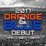 Florida Gators spring game: 2017 Orange & Blue Debut watch live stream online
