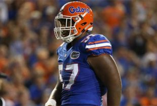 Florida DT Caleb Brantley maintains innocence as accuser wants fast settlement