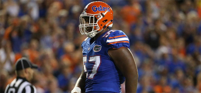 Ex-Florida DT, NFL Draft prospect Caleb Brantley charged with striking woman in face