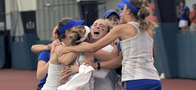 Florida women's tennis routs Stanford 4-1 to win seventh national title