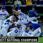LISTEN: Mick Hubert loses his mind calling Florida baseball's first national title