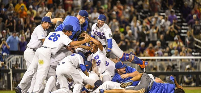 Florida Gators baseball earns No. 1 overall seed in 2018 NCAA Tournament
