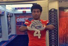 Florida adds second 2018 TE commit in Dante Lang