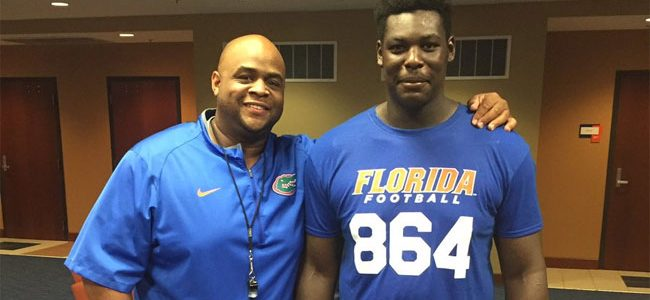 Florida picks up commitment from 2019 OL Wardrick Wilson at Friday Night Lights