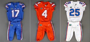 florida gators football uniforms. what has actually changed is the general template of uniform including its fabric and technological design florida moved from nike chainmaille gators football uniforms n