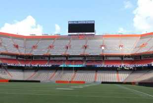 Florida Gators change the walls of The Swamp again