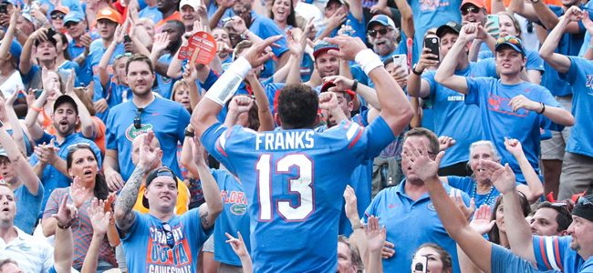 Florida QB Feleipe Franks appears set for big jump in Year 2 under Dan Mullen