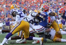 No. 22 Florida football opens as short home underdog vs. No. 5 LSU
