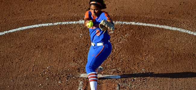 Florida softball blasts rival Georgia to open 2018 Women's College World Series