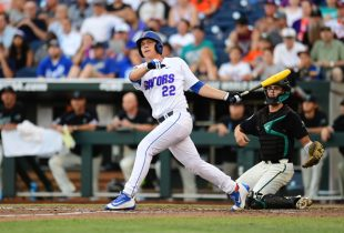 Florida edges Texas Tech, staves off College World Series elimination in hard-hitting affair