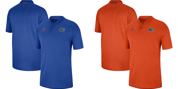 e7ac6cf24676a7 Florida Gators Jordan Brand 2018 Sideline Lockdown Half-Zip Jacket — Buy in  Blue OR White