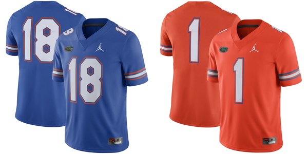 9623291f2e71 Florida Gators Jordan Brand 2018 Coaches Elite Blade Collar Polo — Buy in  Blue OR Orange