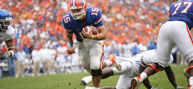 Tim Tebow to be sixth member of Florida Ring of Honor, Gators set for 2008 championship reunion