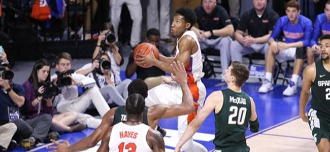 Florida basketball score: Gators fall short as No. 10 Michigan State edges out tough win