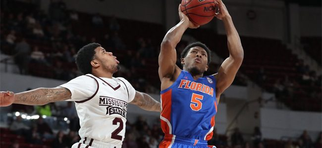 1b6994774 Florida basketball score  Gators fall apart late yet again in loss to No.  24 Mississippi State