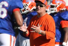 Reports: Florida losing defensive line coach Sal Sunseri to Alabama after one year