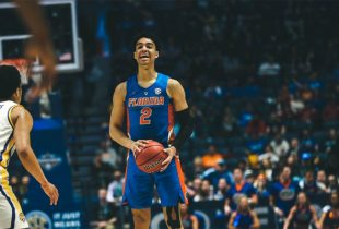 Florida PG Andrew Nembhard injures knee, reportedly avoids major damage