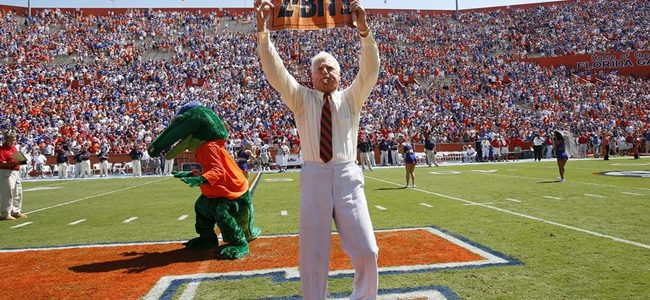 Florida Gators icon George Edmondson, better known as Mr. Two Bits, dies at 97