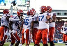 Mullen: Florida offensive line 'not enough' to beat Auburn … unless it improves
