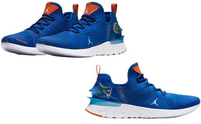 Gators Jordan Brand sneakers