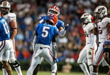 Short-handed Florida Gators look to Shawn Davis, freshmen to solidify secondary