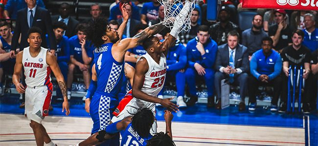 Florida vs. Kentucky score, takeaways: Gators collapse, blowing 18-point lead in second half to No. 6 'Cats