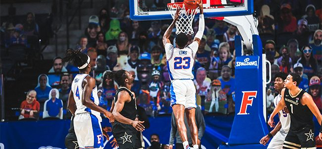 Florida basketball star Scottie Lewis declares for 2021 NBA Draft, signs with agent