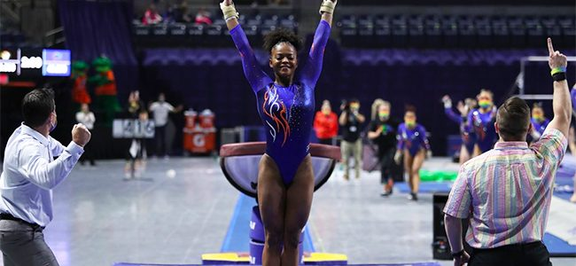 Trinity Thomas makes her mark as No. 1 Florida gymnastics earns road win over No. 2 LSU